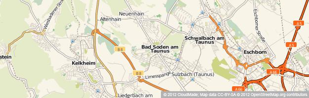 Solarium und Sonnenstudio in Bad Soden am Taunus (Hessen)