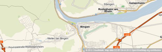 Solarium und Sonnenstudio in Bingen am Rhein (Rheinland-Pfalz)